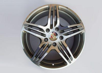 FELGENTEC Porsche Turbo GLANZGEDREHT